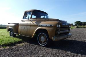 1959 CHEVROLET APACHE CALIFORNIA HISTORIC VEHICLE STEP SIDE TRUCK