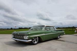 Rare 1959 Chevrolet Belair with V8 Chevy Airride Survivor