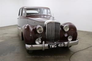 1952 Bentley Saloon Right Hand Drive