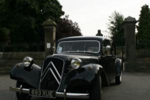 1956 CITROEN traction avant 11b BLACK