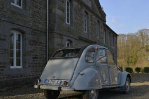 Fully restored 1966 Citroen 2CV 6v 425cc motor