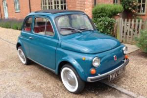 Classic Fiat 500. Beautiful car. 12 months mot tax exempt. Blu turchese