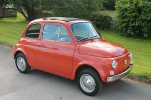 1969 Fiat 500L Recent Import from Italy Full MOT Low Mileage 26k