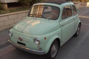 Fiat 500 D light blue - year 1962 --- FULLY RESTORED - by Classic Italian Car