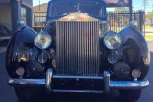 Rolls Royce Silver Dawn 1950 Model Black Sedan in NSW