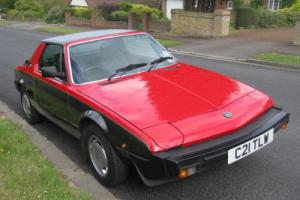 1985 FIAT X1/9 Bertone VS - Versione Speciale 5 SPEED 40,500 miles for Sale