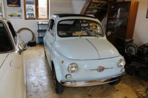 CLASSIC FIAT 500D TRANSFORMABLE 1964
