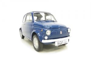 An Adorable Classic Fiat 500L Lovingly Restored and Ready to Show!