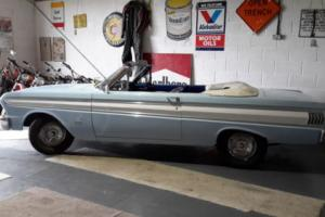 1964 FORD FALCON FUTURA CONVERTIBLE NEW MOT IN VERY NICE CONDITION AMERICAN