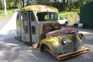 1946 Studebaker Short School BUS Very Cool BUS Suit Ford Chevy F1 F100 RAT ROD Photo
