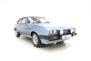 A Special Edition Ford Capri 2.0 Laser, Detailed to Original Specification