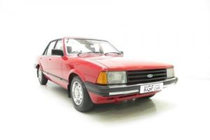 A Virtually Extinct Base-Model Mk2 Ford Granada 2.0L with Just 39,987 Miles!
