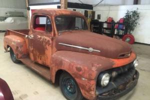 1952 ford f1 solid pick up camaro front 350 hot rod SOLD CALL FOR MORE LIKE THIS