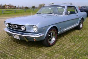 Low Mileage Original 1966 Ford Mustang GT Take P/Ex Motorcyle