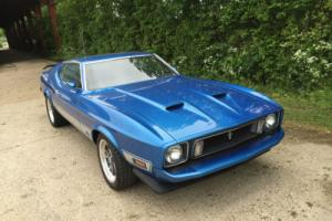 1973 Mustang Fastback 351 Cleveland V8 and Automatic