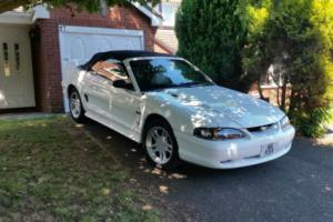 mustang convertible 4.6 gt 45000 miles
