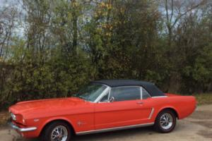1965 Ford Mustang V8 Convertible.