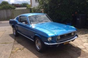 FORD MUSTANG FASTBACK 390GT S CODE