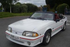 1987 (E) Ford Mustang GT 5.0 V8 Convertible £4995