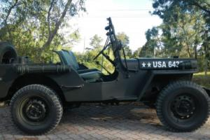 Willys Army Jeep World WAR 11 Fully Restored in VIC
