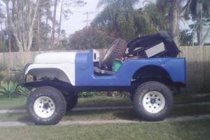 Willys Jeep CJ5 X2 Vehicles Like CJ7 CJ6 Project 1X Original 1X Modified in QLD
