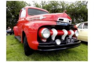 1952 Ford F1 Pickup Truck 5 Star Cab Deluxe Hotrod American