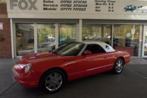 2002 51 FORD THUNDERBIRD 3.9, 2 DOOR CONVERTIBLE
