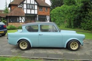 FORD ANGLIA 105E,FITTED WITH 2.0 VAUXHALL XE ENGINE,ON CARBS.P/X CONSIDERED