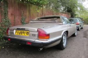 Jaguar XJS Convertible just 24K from new