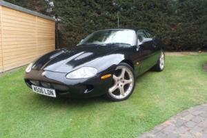 RARE JAGUAR XKR 400BHP LOW MILES 45K FROM NEW 2 OWNER GOOD SPEC 99P NO RESERVE