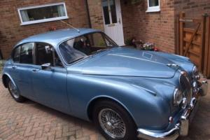 JAGUAR MK2 3.4 Opalescent Silver/Blue 1962 Photo