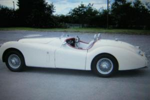 JAGUAR XK120 LE-MANS RE-CREATION RACE CAR! BE-SPOKE ONE OFF CAR.