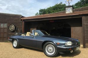 JAGUAR XJS V12 CONVERTIBLE, 64,000 MILES THREE OWNERS FROM NEW.