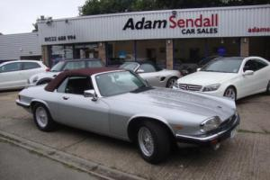 Jaguar XJS 5.3 V12 Convertible Auto Silver MOT 26th July 2017 No Advisories