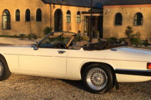 1988 Jaguar XJ-S V12 Convertible.