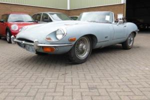 JAGUAR E-TYPE Series 2 OTS , Blue, Manual, Petrol, 1971