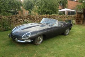 1962 Jaguar E Type roadster 3.8 for total restoration Photo