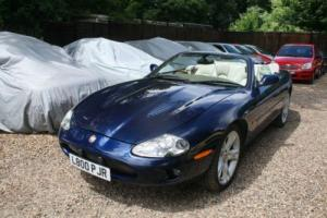 1999 JAGUAR XKR AUTO BLUE CONVERTIBLE STUNNING COLOUR GREAT FUTURE INVESTMENT Photo
