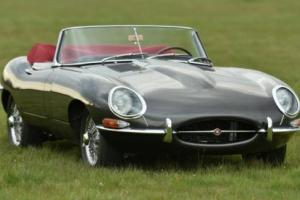 1962 E Type 3.8 Litre OTS Left Hand Drive Photo