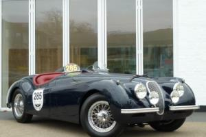 1954 Jaguar XK120 Jabbeke Replica Photo
