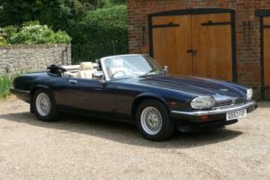 1989 Jaguar XJS V12 Convertible Photo