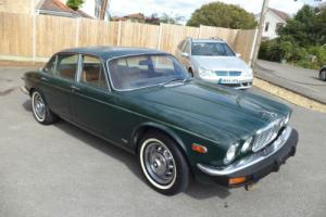 JAGUAR XJ6 SERIES 2 4.2 LWB AUTO (1978) BR GREEN! RESTORED ENGINE! LAST OF THEM! Photo