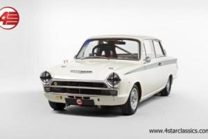 FOR SALE: Lotus Cortina Mk1 Race Car 1965