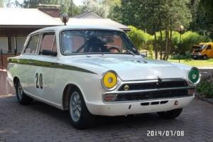 1966 FORD LOTUS CORTINA FIA RACE CAR L.H.D IN WHITE/GREEN ** MUST BE SEEN ** for Sale
