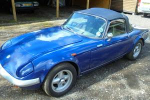 1967 LOTUS ELAN SERIES 3 SE Convertible, RESTORED IN 1980, Still a very nice car Photo
