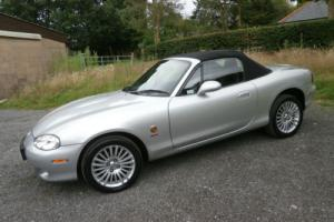 2005 ' 05 ' MAZDA MX5 1.8 ICON EDT IN MET SILVER/BLACK LEATHER ** LOOK **