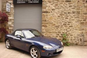 2003 03 MAZDA MX5 1.8 S VT SPORT CONVERTIBLE 62805 MILES LEATHER SIX SPEED.