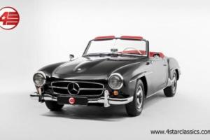 FOR SALE: Mercedes 190 SL