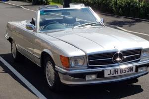 1974 MERCEDES 350 SL AUTO SILVER R107 350SL SL350 VED EXEMPT