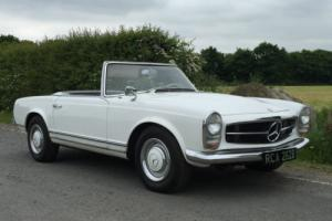 Mercedes SL 230 Pagoda 1964 Manual sensibly priced LHD left hand drive